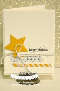 Easy Birthday Card Idea! Stampin` Up! :: Dawn's Creative Chalet