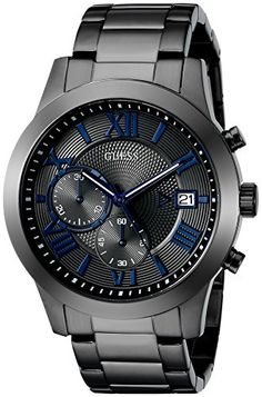 GUESS Men's U0668G2 Grey Stainless Steel Chronograph Watch GUESS http://www.amazon.com/dp/B00V49K740/ref=cm_sw_r_pi_dp_s9ntwb1GR86HR