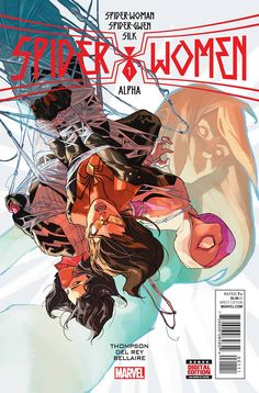 Browse the Marvel Comics issue Spider-Women Alpha Learn where to read it, and check out the comic's cover art, variants, writers, & more! Marvel Dc, Marvel Comics, Comic Art Community, Baby Drawing, Spider Gwen, Fun Comics, Got Books, Comic Covers, Hush Hush