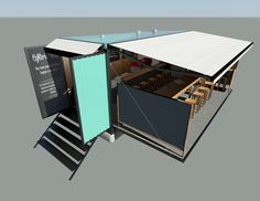 Cafeteria ecologica viverde on pinterest cafe organico - Contenedor de agua ...