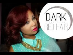 HOW TO | NEW DARK RED HAIR FT L'OREAL HICOLOR & HIGHLIGHTS