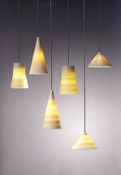 Porcelain lights by Steng