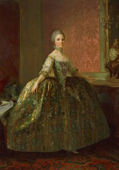 tiny-librarian:  Maria Luisa of Parma, Queen of Spain. Source