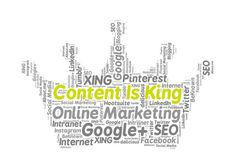 why content is still king of today's marketing initiatives