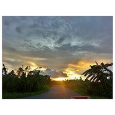 #sunset #sky #clouds #philippines  #夕日 #夕焼け #空 #雲 #フィリピン