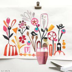 Julie Hamilton Creative #sketchbook_studies