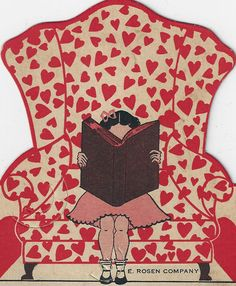 Chair with Red Hearts