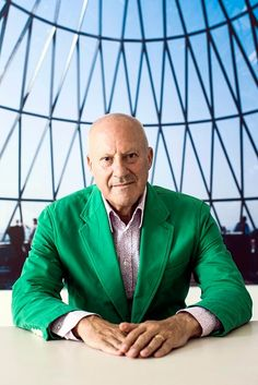 "Norman Foster, architect, visionary.  Infrastructure, he says, is about ""investing not to solve the problems of today but to anticipate the issues of future generations"". Get smart about climate and architecture, - at the Guardian."