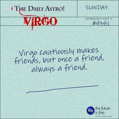Virgo Daily Astro!: Have you ever had a complete astrology birth chart reading? Here's a great free one.  Visit iFate.com today!