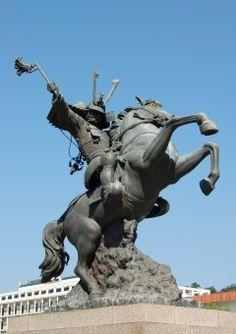 Shimazu Yoshihiro #Samurai Statue