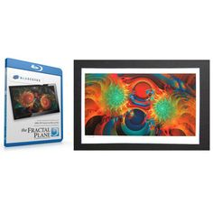 Fractal Plane Print & Blu-Ray 1, $34, by Scenic Labs !!