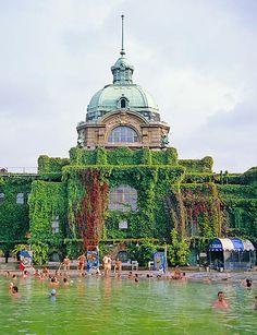 Vajdahunyad Castle,City Park of Budapest, Hungary: