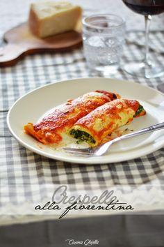 Cucina Ghiotta: Uno dei piatti che amo di più: le crespelle alla fiorentina