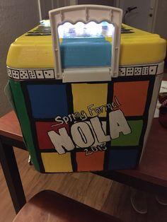 Rubik's cube cooler formal frat