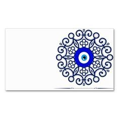 Business Card-evil-eye Double-Sided Standard Business Cards (Pack Of Great Tattoos, Body Art Tattoos, Small Tattoos, Greek Evil Eye Tattoo, Ojo Tattoo, Tattoo 2015, Evil Eye Art, Eyes Artwork, Eye Jewelry
