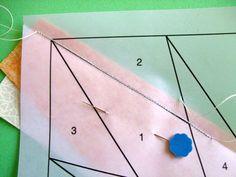 Carol Doak's Corner » Blog Archive » Paper Piecing the Carol Doak Way (Easy Way)