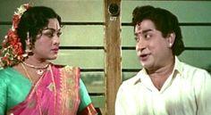 Padmini and Sivaji Ganesan in Thillana Mohanambal.