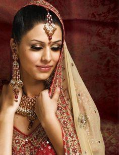 Inspiration: #Indian Bridal #Makeup -- #Wedding #Bride #Desi