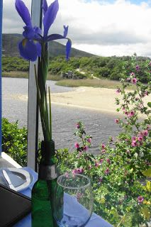 Milkwood restaurant in Onrus- beautiful by the sea and lagoon