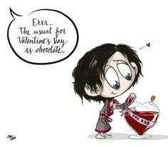 "lolawashere: ""Happy Valentine's Day!  (Artwork by @Hashtag_Genius) """