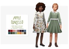 nolan-sims Nolan Sims here. To kick off this year's @plumbobteasociety​ Secret Santa 2017, I have a few special gifts for the precious fruit salad~ @applezingsims​! For post ¾ here is a cute dress for...
