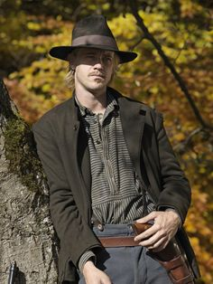 Boyd Holbrook in Hatfields & McCoys Cap Hatfield was my great great grandfather