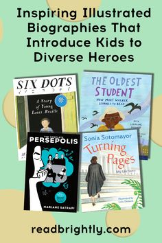 Readers of all ages can find much to consider, relate to, and celebrate in these transcendent illustrated biographies of people who've had an impact on our lives and culture. Books For Tweens, Young John, National Book Award, High School Classroom, The Orator, S Stories, Biographies, Teaching Science, Learn To Read