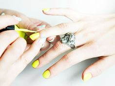 Nail Art Tips: The Ombré Manicure, Step 1