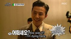 Infinity Challenge 무한도전 Ep 147 - GD Is So Cute When He's Nervous!