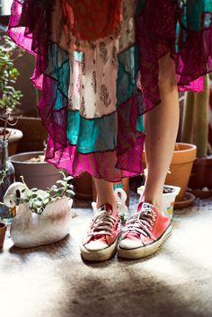 <3 converse & hippie xo