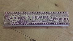 French Vintage Box of 5 Fusains ( Charcoal Pencils ) 1st Choice Boxed   eBay