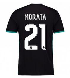 Billiga Real Madrid Alvaro Morata 21 Bortatröja 17-18 Kortärmad Ronaldo, Real Madrid, 21st, Tops