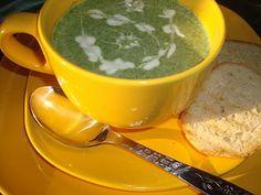 CAIETUL CU RETETE: Supa crema de spanac