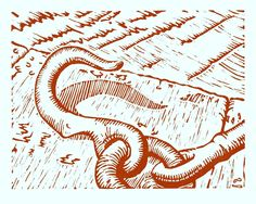 """""""Sir John Rogerson Quay"""" ....lino print by Red Boy Prints 2015 ©"""