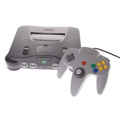 Nintendo 64 Charcoal Grey Console With Controller & Hookups Bundle (NTSC) from Games Found Here. Saved to Games. Nintendo 64, Nintendo Switch, Nintendo Games, Nintendo Consoles, Games For Teens, Adult Games, Arcade, New Video Games, Game Item