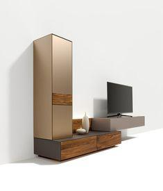 cubus pure wall storage system de TEAM 7 | Conjuntos de salón