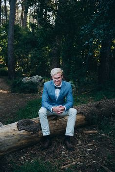 Eclectic Groom style
