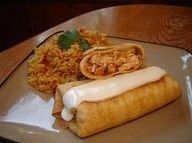 oven baked chimichangas. Apparently they are VERY good!