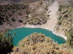 El Pozo de las Ánimas es una formación geológica del Departamento Malargüe,Provincia de Mendoza,Argentina.Se trata de dos depresiones divididas entre sí por una frágil separación que se supone con el paso de los años terminarán por unir los dos pozos en uno debido a erosión.La profundidad se estima en 200 metros, 80 m. hasta el lago y unos 20 m. más bajo el agua