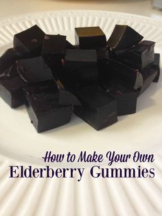 Flu Remedies Our favorite remedy for cold and flu are elderberries---gummies and syrup. Try these dummies for a great antiviral even the kids will like. - You can make your own elderberry gummies to fight cold and flu viruses and save money. Cough Remedies, Holistic Remedies, Natural Remedies, Make Your Own, Make It Yourself, How To Make, Elderberry Gummies, Special Needs Mom