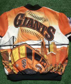 dc463a781 Vintage Chalk line Fanimation Jacket XL 1989 San Fransico Giants SUPERRARE  80s #fashion #clothing