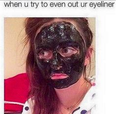 Evening out your eyeliner can easily get out of hand.