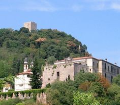 Villa Duodo and the Rocca in Monselice, ancient buildings that give atmosphere and historical valour to the city
