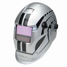 Chicago Welding 68782 Variable Auto Darkening Welding Helmet with Metal Head Design
