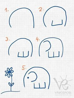 How to draw an elephant?!