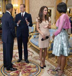 British Royalty meets American Royalty