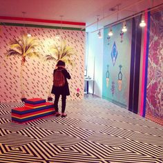 She Does the City - amazing, maybe more eccentric than cool interior - like if the Italians from the Memphis movement decorated Tut's tomb :)