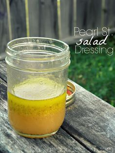 Super easy secret salad dressing recipe from a restaurant in Natchez, MS! Dressing is a light, sweet, slightly ranch flavored dressing. Sub ranch for natural spices Oil Dressing Recipe, Salad Dressing Recipes, Salad Recipes, Sweet Salad Dressings, Soup And Salad, Pasta Salad, Yummy Drinks, Food To Make, Food And Drink