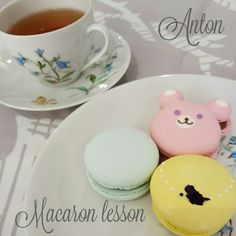 マカロンレッスンへ@青空マカロン先生 |ANTON☆ウィルトンクラス 伊丹☆大阪・兵庫・神戸・西宮・伊丹