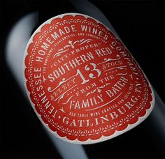 T.H.W. Southern Wines on Behance